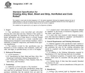 ASTM A 507 – 04 international stndard