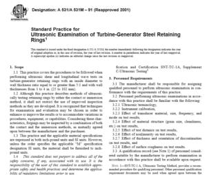 ASTM A 531 A 531M – 91 international standard