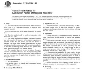 ASTM A 719 A 719M – 02 International standard