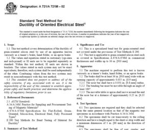 ASTM A 721 A 721M – 02 International standard