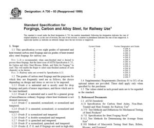 ASTM A 730 – 93 International standard
