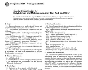 ASTM B 387 – 90 International standard